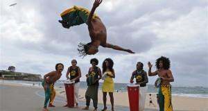 GREG WOOD/AFPA Capoeira surgiu no Brasil durante ao período esclavagista