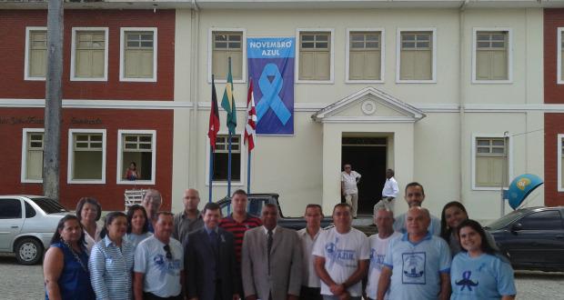 Na Comarca de Rio Tinto, ciclo de debate com palestras educativas sobre prevenção do câncer da próstata.