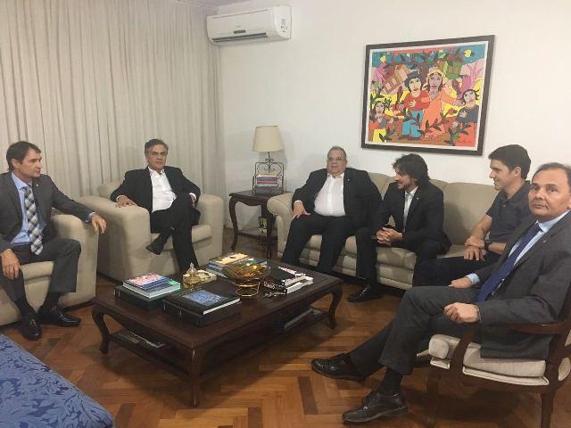 e1b9768fe9 Romero anuncia apoio a Luciano Cartaxo para o governo após reunião ...